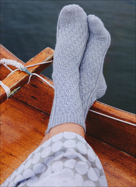 Knit Your Socks on Straight from KnitPicks.com Knitting by Alice Curtis