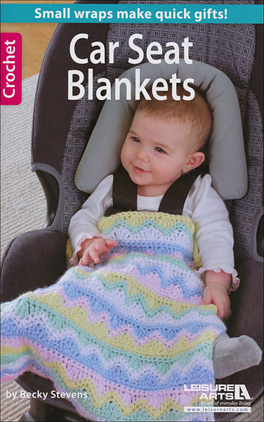 Car Seat Blanket Knitting Pattern : Car Seat Blankets from KnitPicks.com Knitting by Becky Stevens