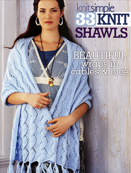 Knit Simple 33 Knit Shawls