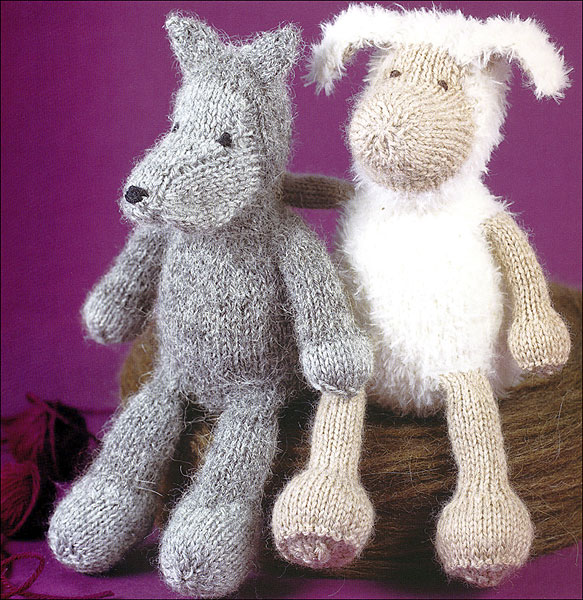 Knitting Animals Book : Cuddly knitted animals from knitpicks knitting by