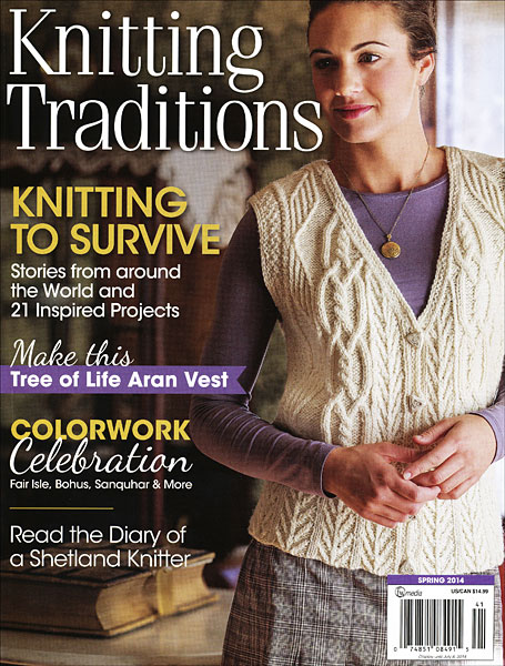 Knitting Traditions Magazine - Spring 2014