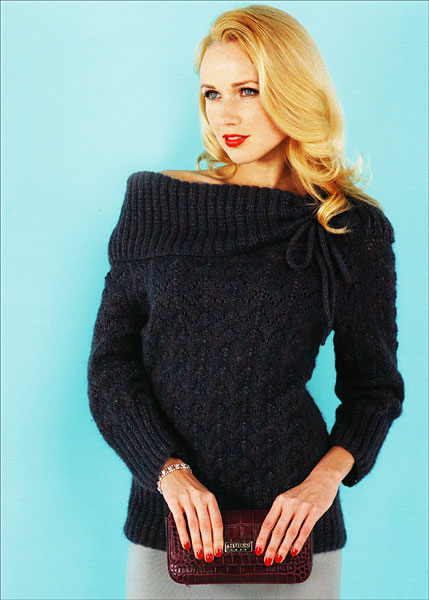 3/4 sleeve sweater vintage knits for him and her