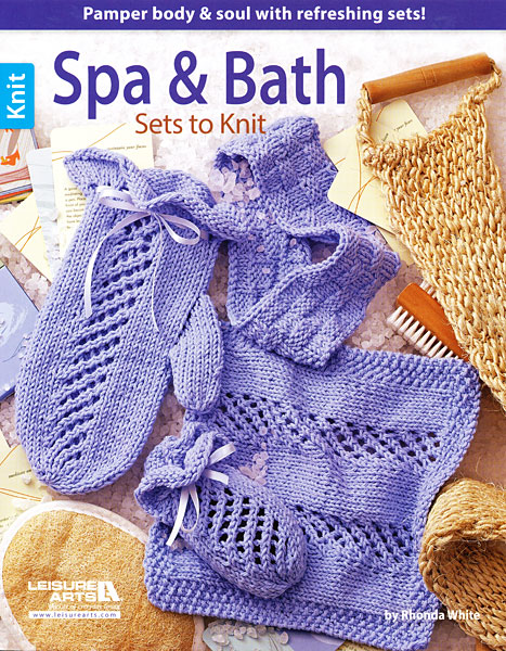 Spa & Bath Sets to Knit
