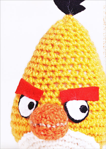 Knitted Childrens Slippers Free Pattern : Angry Birds Amigurumi & More from KnitPicks.com Knitting by Elina Hiltune...