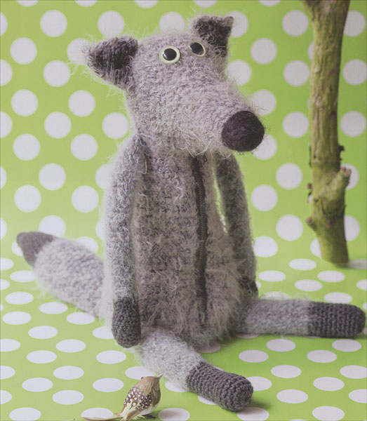 Knitting Patterns For Forest Animals : My Crochet Animals from KnitPicks.com Knitting by Isabelle Kessedjian On Sale