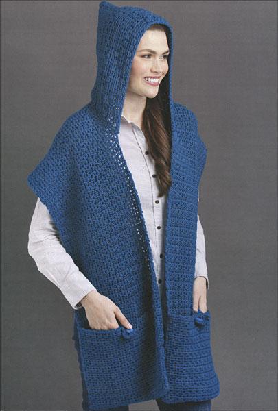 Free Knitting Pattern For Pocket Shawl : Pocket Shawls from KnitPicks.com