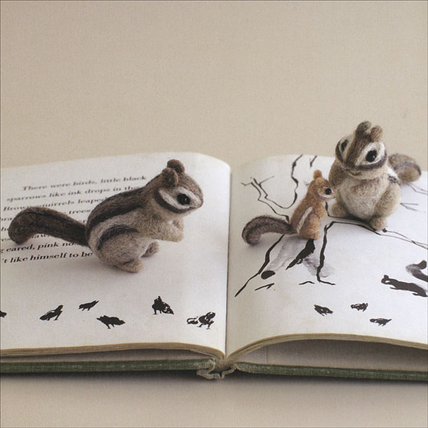 Adorable Felted Animals: 30 Easy and Incredibly Lifelike Needle Felted Pals by G