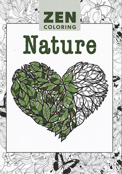 Zen Coloring: Nature