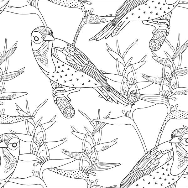 zen coloring nature pages - photo#3