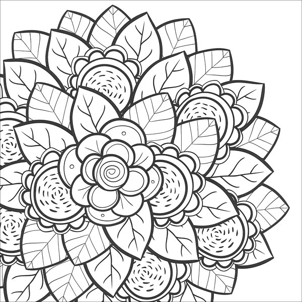 Coloring Pages For Zen : Zen Coloring: Nature from KnitPicks.com Knitting by Guild of Master Craftsman On Sale