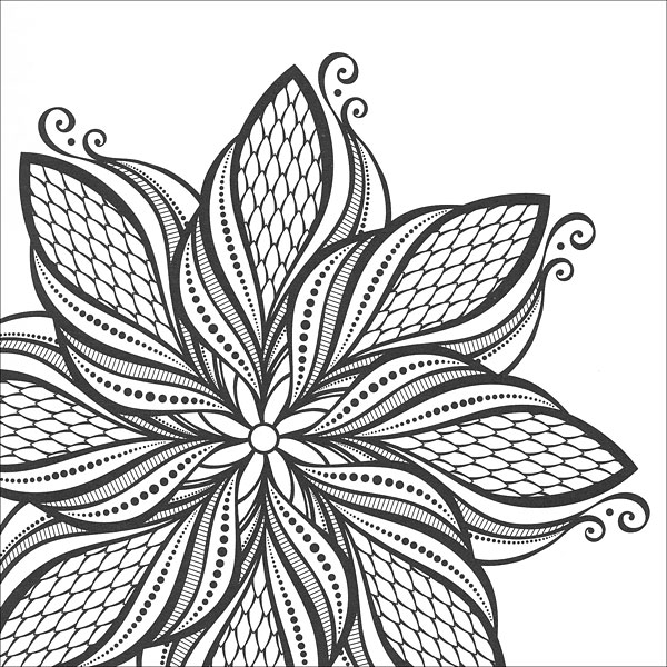 Coloring Pages For Zen : Zen Coloring: Mandalas from KnitPicks.com Knitting by Guild of Master Craftsman