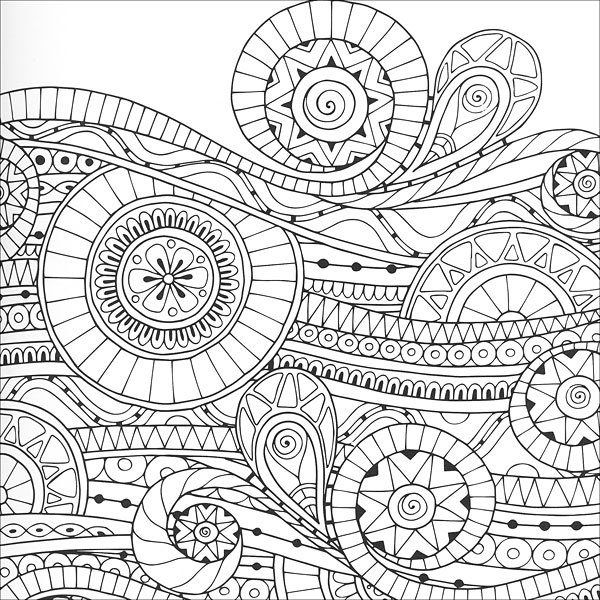 Zen Mandalas Coloring Book : Zen coloring: mandalas from knitpicks.com knitting by guild of