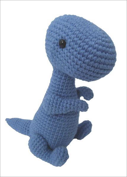 Dinosaur Amigurumi from KnitPicks.com Knitting by Justyna ...