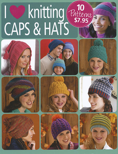 Go Crafty! I Love Knitting Caps & Hats