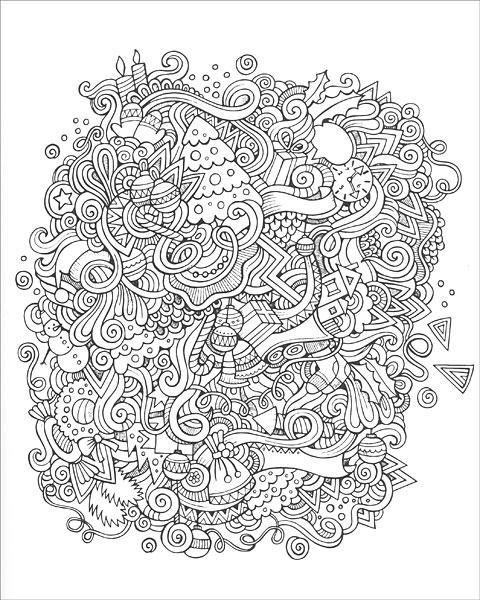 Zen Coloring Winter Wonderland from KnitPickscom Knitting by