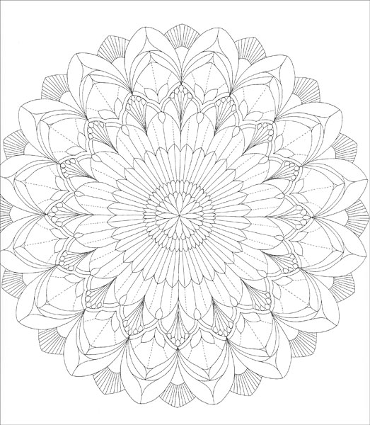 Tropical World Coloring Book Tiger Coloring Pages