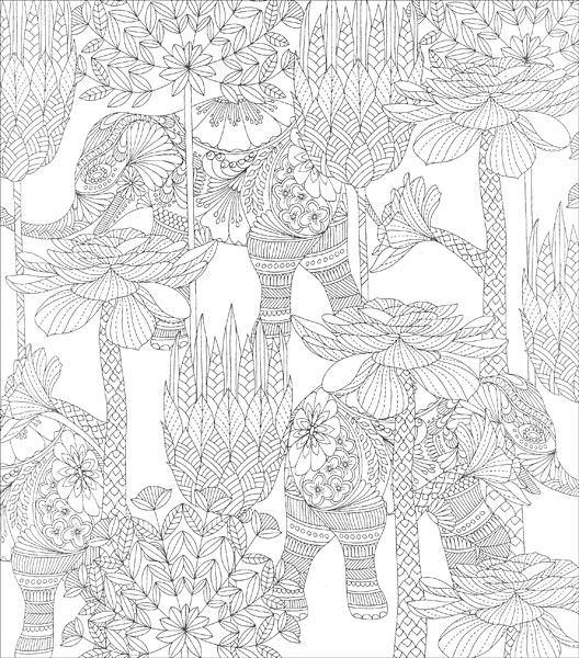 Tropical World Coloring Book from KnitPicks.com Knitting by Millie Marotta On Sale