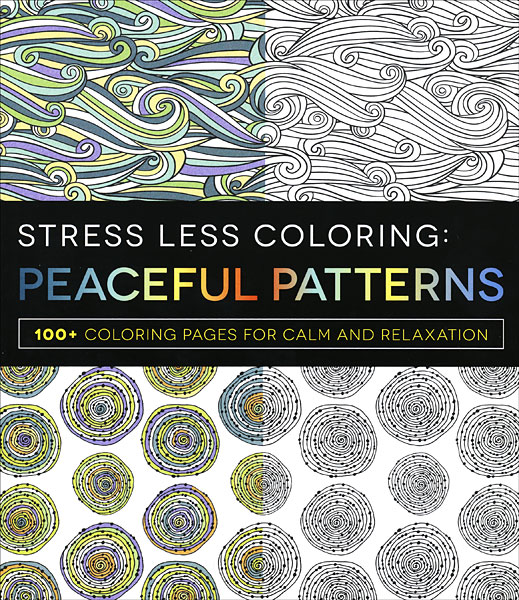 Stress Less Coloring: Peaceful Patterns