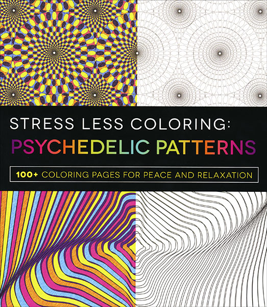 Stress Less Coloring: Psychedelic Patterns