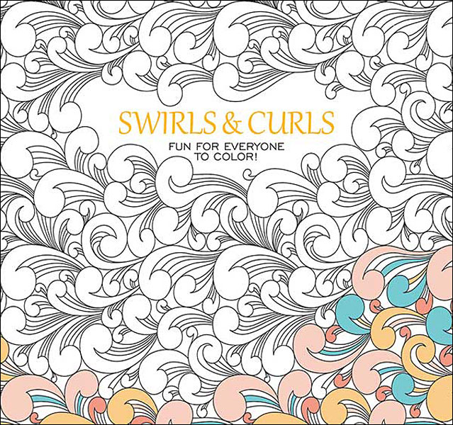 Swirls & Curls Coloring Book