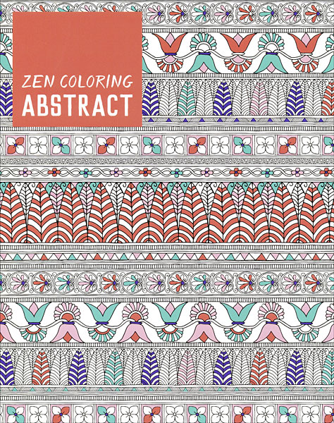 Zen Coloring: Abstract