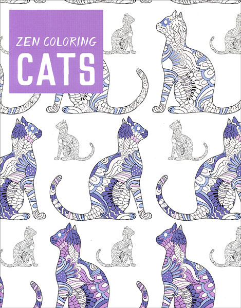 Zen Coloring: Cats