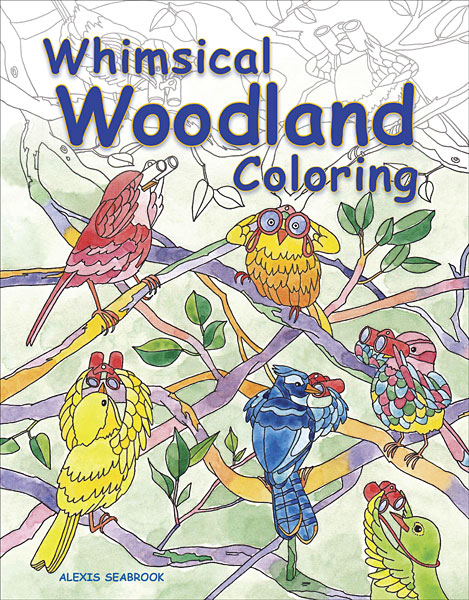 Whimsical Woodland Coloring Book