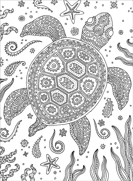 Colorful Meditations Coloring Book from KnitPicks
