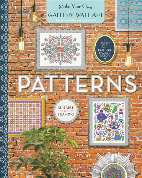 Gallery Wall Art Coloring Book: Patterns