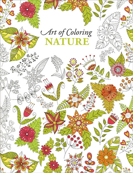 Creative Colouring Patterns Of Nature : Art of coloring nature from knitpicks knitting by