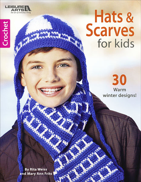 Crochet Hats & Scarves for Kids