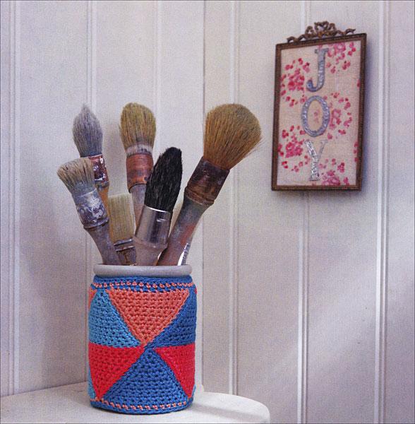 Crochet Flowers Tutorial By Carmen Heffernan : Crochet Yourself Calm from KnitPicks.com Knitting by ...