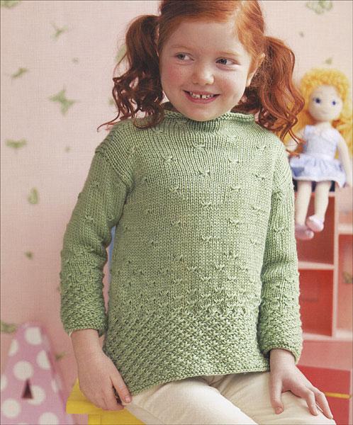 Crochet Flowers Tutorial By Carmen Heffernan : 60 Quick Knits for Little Kids from KnitPicks.com Knitting ...