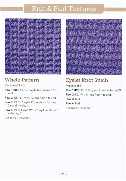 The Big Book of Knit Stitches from KnitPicks.com Knitting by Editors of Marti...