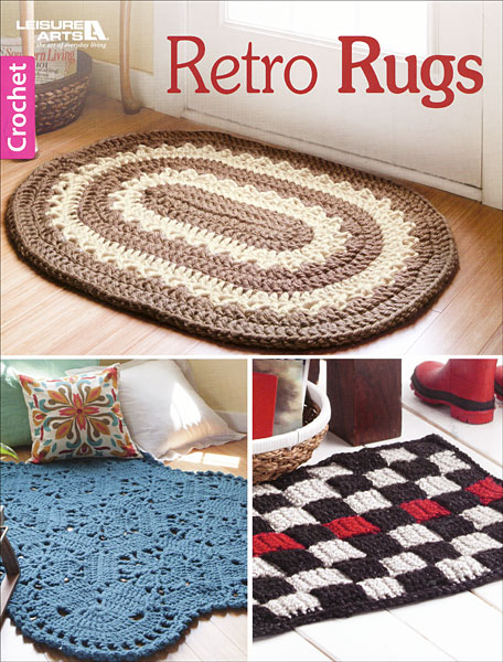 Crocheting Rugs Book : Home / Books / Crochet Books / Retro Rugs