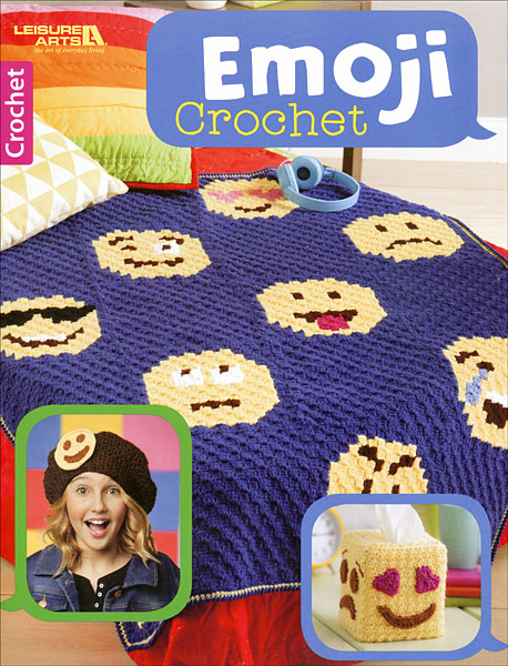 Emoji Knitting Needles : Emoji crochet from knitpicks knitting by leisure arts