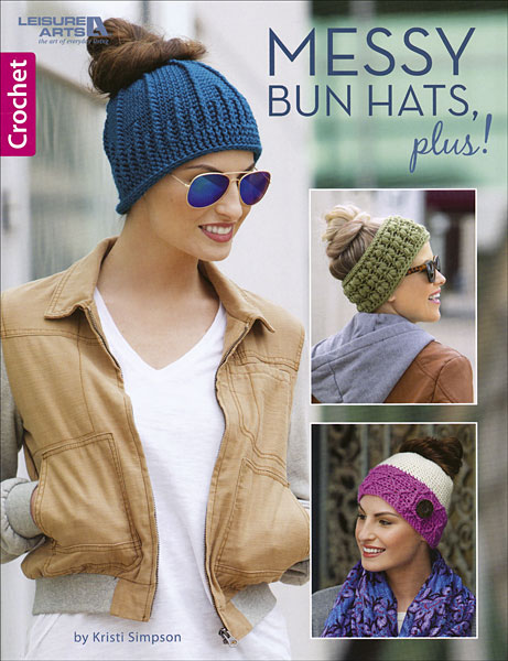 Messy Bun Hats, plus!