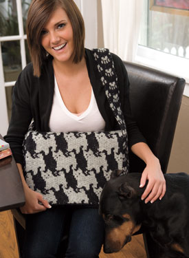 Cats & Dogs Satchel Pattern
