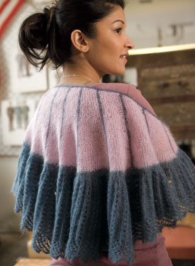 Modern Twist Shawl Pattern