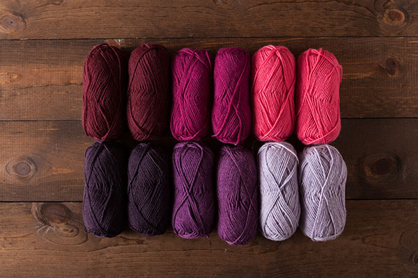 Lupines and Sweet Peas - Wool of the Andes Sport Value Pack