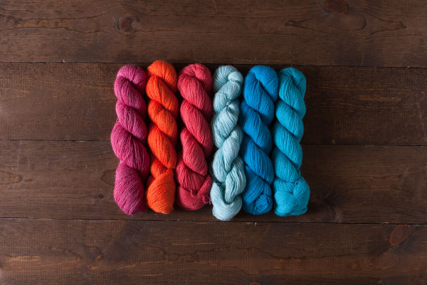 Tropical Sunset - Alpaca Cloud Lace Value Pack