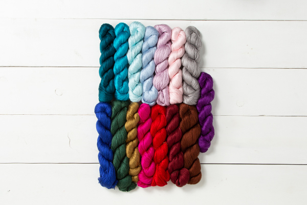 Luminance Hand Painted Yarn Collection