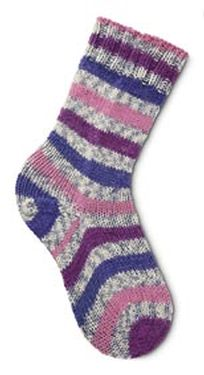 Two At Once, Toe-Up Sock Pattern