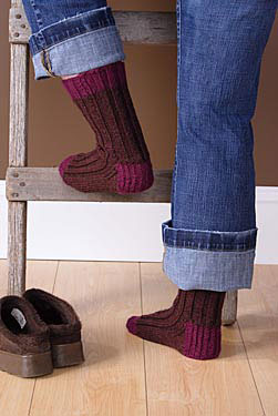Boot Socks Pattern