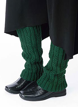 Cabled Legwarmers Pattern