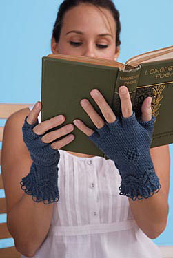 Queen of Diamonds Gloves Pattern