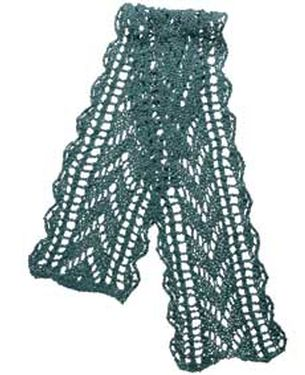 Free Victorian Crochet Scarf Patterns : Victorian Scarf Pattern - Knitting Patterns and Crochet ...