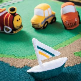 Land & Sea Playset Pattern