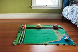 Land & Sea Play Mat Pattern