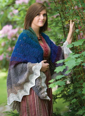 Fall Seasons Shawl Pattern